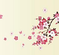 abordables -floral& plantes stickers muraux salon, pré-collé pvc décoration de la maison sticker mural 45 * 60 cm