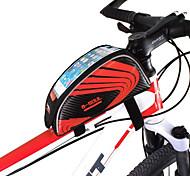 economico -B-SOUL Bag Cell Phone Marsupio triangolare da telaio bici 5.7 pollice Schermo touch Ompermeabile Ciclismo per iPhone 8 Plus / 7 Plus / 6S Plus / 6 Plus iPhone X Samsung Galaxy S8 / S7 / Note 7 Rosso