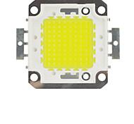 economico -zdm fai da te 100w 8500-9500lm bianco freddo 6000-6500k luce led modulo integrato (dc33-35v 3a) lampione per proiettare saldatura filo d'oro leggero di staffa di rame