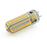 abordables -gy6.35 led ampoule de maïs 5w 72 smd 2835 ac / dc projecteur 12v en silicone blanc / chaud (1 pièce) 350 lm