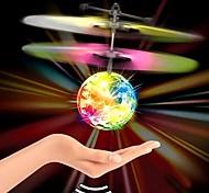 abordables -Gadget Volant Avion Vaisseau Spatial Système anti-collision Brillant Eclairage LED Plastique Jouet Cadeau / avec détecteur infrarouge cadeaux noël enfant