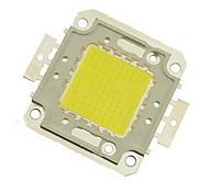 abordables -zdm 1pc bricolage 100w 8500-9500lm blanc froid 6000-6500k lumière intégrée module led (dc33-35v 3a) réverbère pour projeter la soudure de fil d'or léger sur support en cuivre