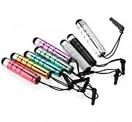 abordables -szkinston balle capacitif stylet 8-en-1 avec un stylo enfichables métaux anti-crépuscule capacité pour iphone / ipod / ipad / samsung et