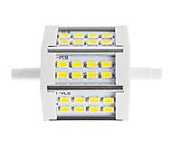 abordables -1 pièce r7s 78mm 10w led économie d'énergie lumière 24 smd 5630 remplacement ampoule halogène lampe de projecteur ac85-265v