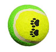 abordables -Balle Jouets de mastication Tennis Jouet interactif Jouet pour chien Jouet pour Chien Tennis Caoutchouc Cadeau Jouet pour animaux de compagnie Jeu d'animaux