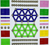 abordables -Blocs de Construction Bloc magnétique Circulaire Cylindrique Classique & Intemporel Chic & Moderne Mode Fille Garçon Jouet Cadeau
