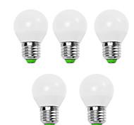 economico -5 pezzi 5 W Lampadine globo LED 450 lm E14 E26 / E27 G45 12 Perline LED SMD 2835 Decorativo Bianco caldo Luce fredda 220-240 V 110-130 V