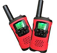 abordables -T48 Portable / Analogique VOX / Encodage / Relais Automatique 5 - 10 km 5 - 10 km 22Channels 1200mAh 0.5W Talkie walkie Radio bidirectionnelle