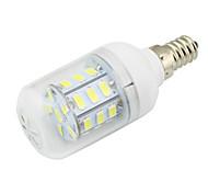 economico -1pc 3w lampadina a cornetta e14 led 27 smd 5730 dc / ac 12 - 24 v ac 110 - 220 v bianco caldo / freddo