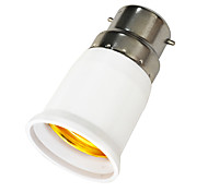 abordables -1 pc B22 à E27 E27 85-265 V Plastique Douille ampoule