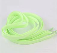 abordables -1pair sport lumineux lacet lueur dans l'obscurité couleur lacet fluorescent sport athlétique chaussures à lacets