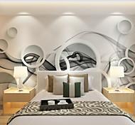 economico -Fantasia floreale Artistico 3D Decorazioni per la casa Moderno Rivestimento pareti, Tela Materiale adesivo richiesta Murale, Carta da