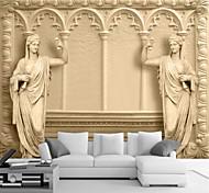 economico -Artistico 3D Decorazioni per la casa Classico Rivestimento pareti, Tela Materiale adesivo richiesta Murale, Carta da parati