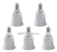 abordables -5 pcs e14 à e27 base led maïs lumière / projecteur ampoule adaptateur support douille de lampe