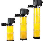 abordables -Aquarium Pompe à air / Filtre Sans Bruit Plastique V Plastique