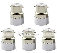 abordables -1pc b22 à e14 petite vis base led adaptateur lumière titulaire du support de convertisseur