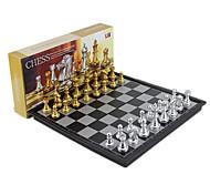abordables -1 pcs Jeux de Société Jeux d'échec Echecs Plastique Professionnel Magnétique Rétractable Enfant Adulte Garçon Fille Jouets Cadeaux