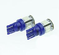 economico -t10 149 W5W 11LED 5730smd bianco caldo / giallo / blu 5W 240-280lm luci di lettura DC12-16V