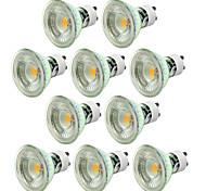 abordables -10 pièces 5 W Spot LED 550-650 lm GU10 1 Perles LED COB Intensité Réglable Décorative Blanc Chaud Blanc Froid 220-240 V