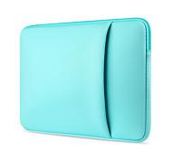 """abordables -11.6 """"13.3"""" 14 """"15.6"""" ordinateur portable manchons en tissu couleur unie sacs pour ordinateurs portables pour macbook / surface / hp / dell / samsung / sony etc"""