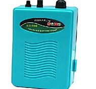 abordables -Pompe à air d'aquarium ultra silencieuse sortie de réservoir de poisson pompe à oxygène pompe à air cellule sèche compresseur d'aérateur à piles