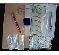 abordables -BaseKey Professionnel / De haute qualité, sans formaldéhyde practice Recommandé pour Crayons à Sourcils / Lèvres / Eyeliners