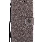 economico -telefono Custodia Per Apple Integrale Custodia in pelle Porta carte di credito iPhone 12 Pro Max 11 SE 2020 X XR XS Max 8 7 6 A portafoglio Porta-carte di credito Con supporto Fiori Mandala Floreale
