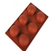 economico -Stampo per torta in silicone a 6 fori strumenti di cottura antiaderente ecologico fai da te per torta per biscotti per stampo per torta