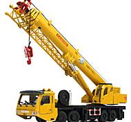 abordables -KDW 1:55 Plastique Métal ABS Grue Véhicule de construction de camion jouet Petites Voiture Rétractable Pliage Tour Garçon Fille Enfant Adolescent Jouets de voiture