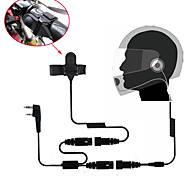abordables -casque intégral de casque de moto oreillette pour talkie walkie radio bidirectionnelle 365 baofeng wanhua