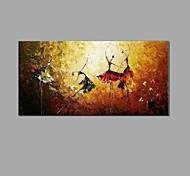 economico -dipinto a olio dipinto a mano - astratto / natura morta su tela stile classico / europeo 100 x 50 cm