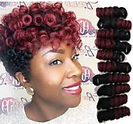 economico -Trecce per capelli a crochet Toni Curl Trecce a scatola Ambra Capelli sintetici 10-20 pollice Capelli intrecciati 20 radici / confezione