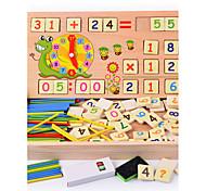 economico -Strumenti didattici Costruzioni Giocattoli con numeri Gioco educativo Quadrato Istruzione Classico Da ragazzo Giocattoli Regalo