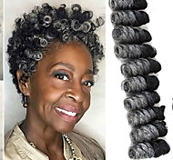 economico -Trecce per capelli a crochet Toni Curl Trecce a scatola Ambra Capelli sintetici 10 pollice Corto Capelli intrecciati 20 radici / confezione