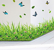 abordables -paysage stickers muraux salon, vinyle pré-collé décoration de la maison sticker mural 137 * 40 cm