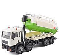 abordables -1h50 Métallique Camion de recyclage des ordures Véhicule de construction de camion jouet Petites Voiture Véhicules à Friction Arrière Pelleteuse Unisexe Garçon Fille Enfant Jouets de voiture