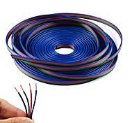 economico -kwb 10m 4-pin cavo di prolunga rgb cavo per 5050 3528 cambia colore flessibile striscia luminosa a led