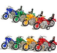 abordables -Petites Voiture Jouet à Remonter Petite Voiture Moto Moto Enfant Unisexe Jouet Cadeau