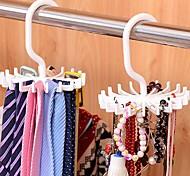 abordables -crochet réglable 20 crochet tournant ceinture organisateur foulard organisateur cravate détient
