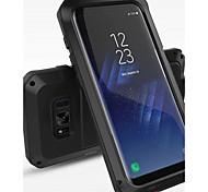 economico -telefono Custodia Per Samsung Galaxy Integrale S8 Plus S8 Resistente agli urti Resistente all'acqua Tinta unita Resistente Metallo