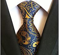 economico -Per uomo Da ufficio / Essenziale / Da serata Cravatta A strisce