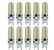 abordables -10 pièces 5 W LED à Double Broches 400-500 lm E14 G9 G4 T 104 Perles LED SMD 3014 Intensité Réglable Blanc Chaud Blanc Froid 220 V 110 V