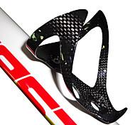 abordables -Vélo Porte-bouteille d'eau Fibre de carbone Ultra léger (UL) Durable Pour Cyclisme Vélo de Route Vélo tout terrain / VTT Motocross TT Vélo pliant Fibre de carbone 1pcs cage+2pcs screws