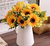 abordables -Soie style pastoral Fleur de Table 1