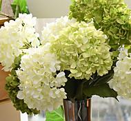 abordables -Soie Style européen Fleur de Table 1