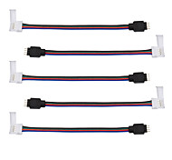 abordables -5pcs Accessoire d'éclairage Câble électrique Intérieur