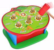 abordables -1 pcs Jeu de Gopher Whac-a-mole Bois Amusement Interaction parent-enfant Enfant Jouets Cadeaux