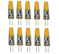 abordables -1.5W G4 LED à Double Broches T 1 LED COB Décorative Blanc Chaud Blanc Froid 250lm 2700-3500/6000-6500