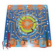 abordables -Labyrinthe en bois Blocs de Construction Jouet Educatif Labyrinthes Magnétiques compatible En bois Legoing Magnétique Classique Garçon Fille Jouet Cadeau / Enfants / Enfant