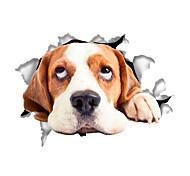 abordables -Animaux / Mode / Bande dessinée Stickers muraux Autocollants avion Autocollants toilettes, Vinyle Décoration d'intérieur Calque Mural Mur / Toilettes Décoration 1 set